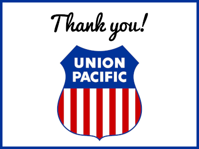 Union Pacific Community Ties Giving Program COVID-19 Relief Grants  Provide Critical Support to People with Developmental Disabilities